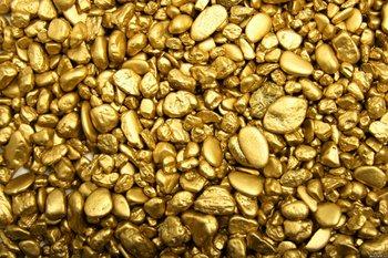 Камни из золота