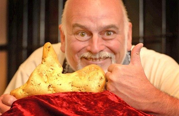 Австралиец нашел слиток золота 5.5 кг