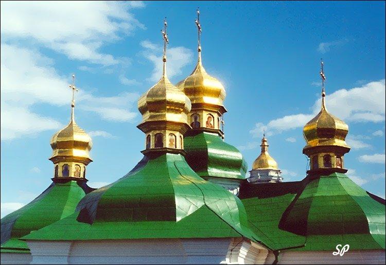 Золотые купола; Киево-Печерская лавра