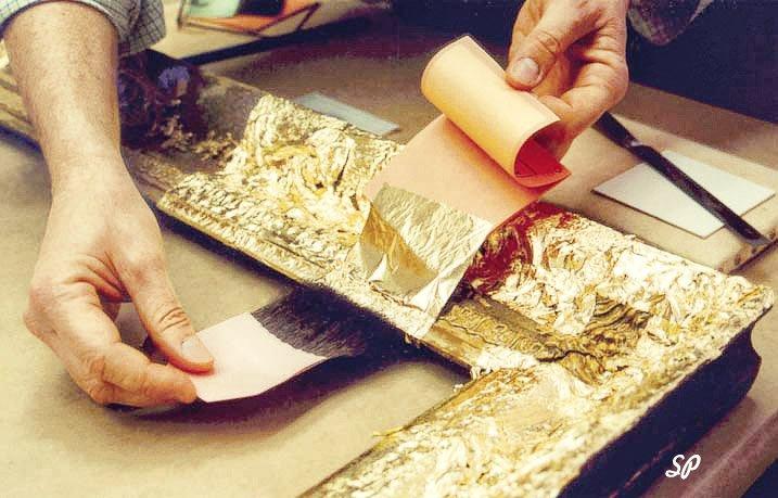 Своими руками золотой краской
