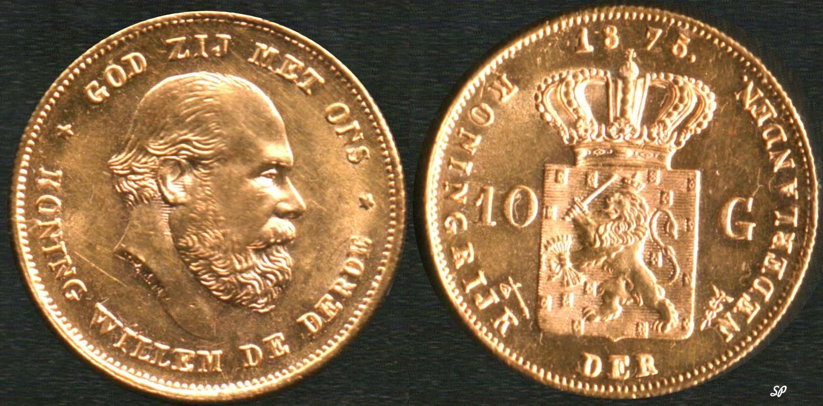Золотые голландские монеты