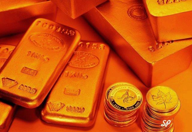 золото, слитки, монеты, золотые монеты, хранение золота