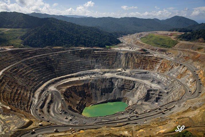 золотые залежи: вид сверху