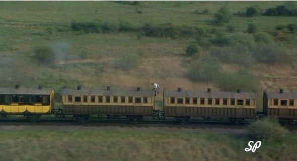 Пирс на крыше поезда