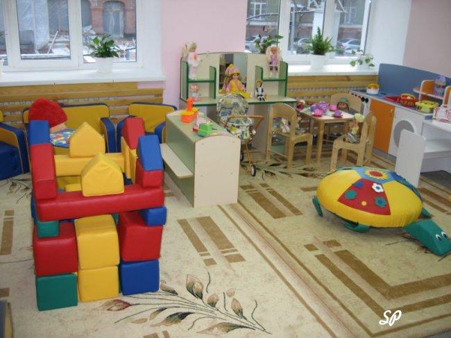 игровая комната в частном садике
