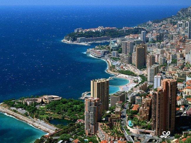общий вид недвижимости в Монако