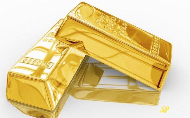 декоративные слитки золота высшей пробы