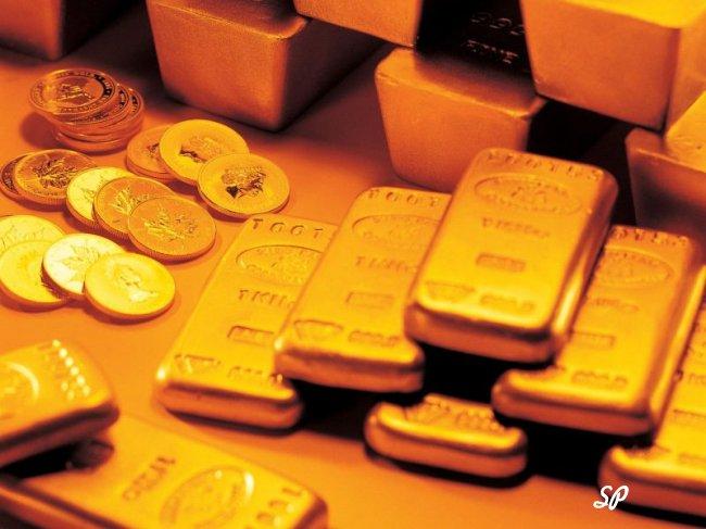 банковский счет в золотых слитках