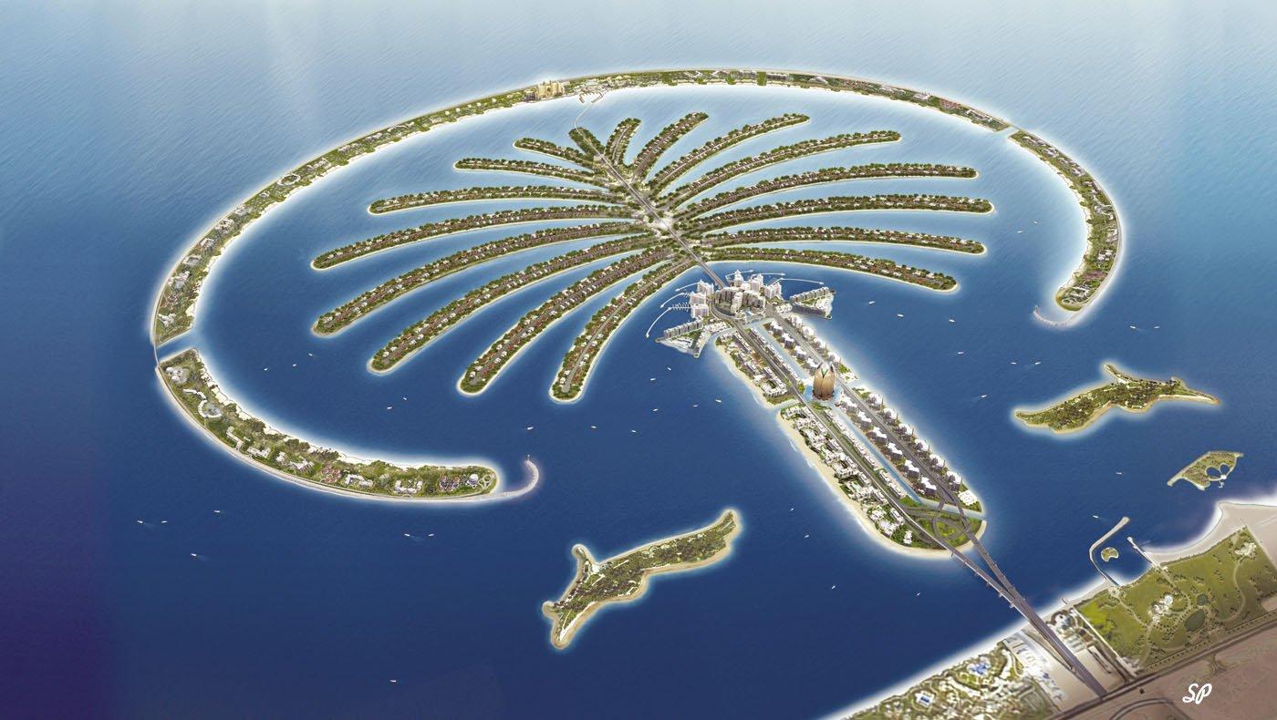 Искусственный остров в Дубае