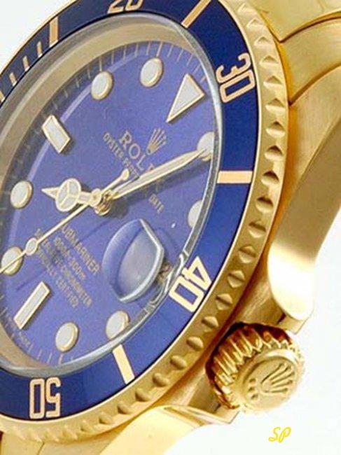 часы с синим золотом