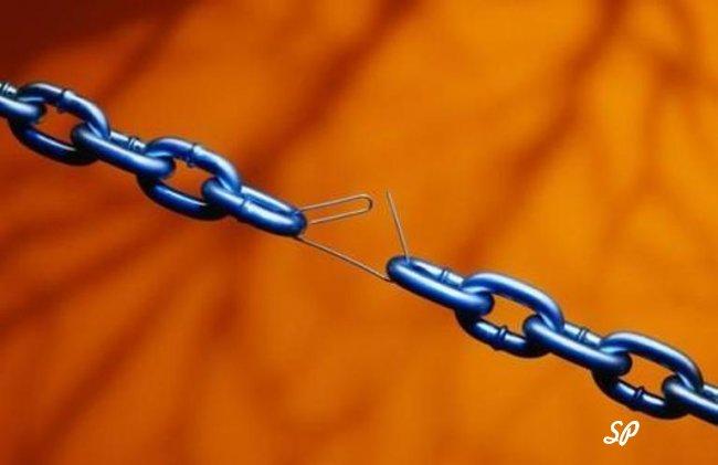 Разорванные звенья цепи