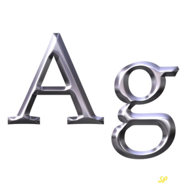 Обозначение серебра (Ag)