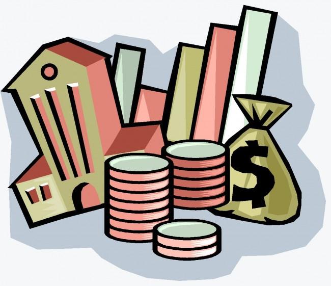 Деньги, графики, здания