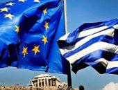 Флаги Греции и ЕС