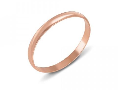 Обручальное классическое кольцо
