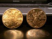 2 золотые монеты