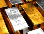 Золотые и серебряные слитки