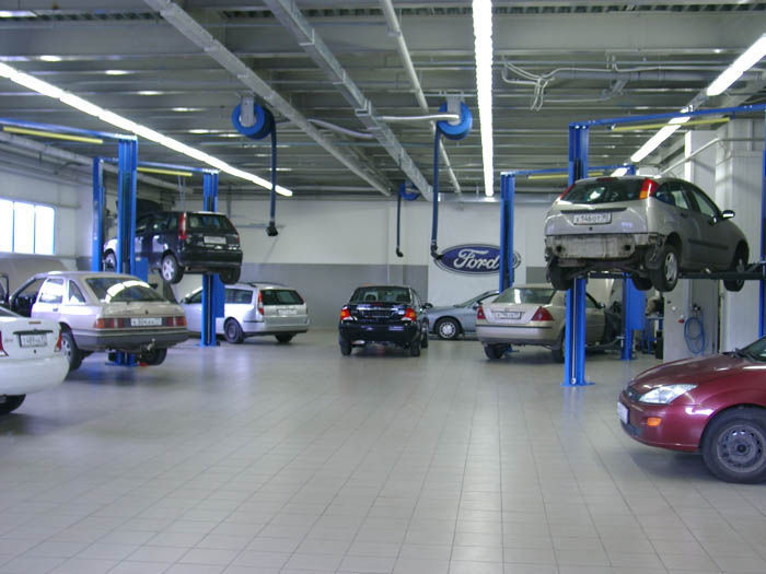 Автосервис Ford