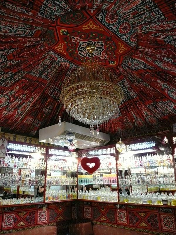 парфюмерный магазин арабский стиль оформления