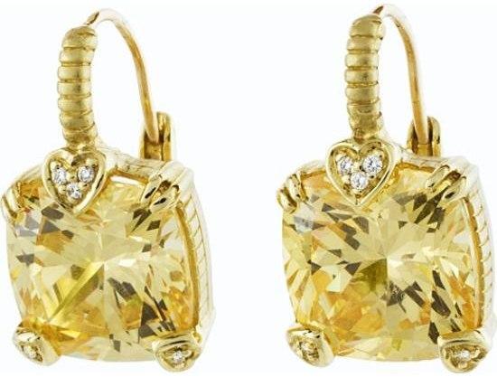 Ювелирные изделия золотые серьги