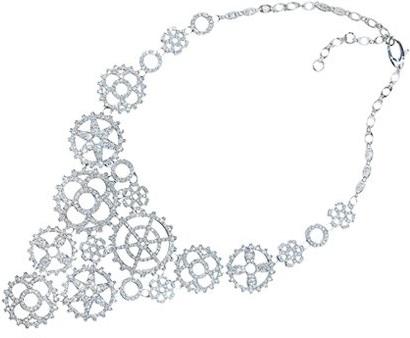 Ожерелье из белого золота