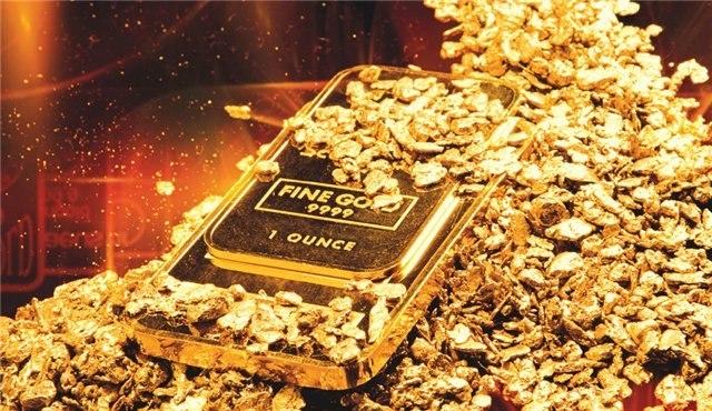Одна унция золота