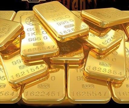 Гигантские слитки золота