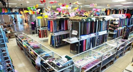 Магазин тканей