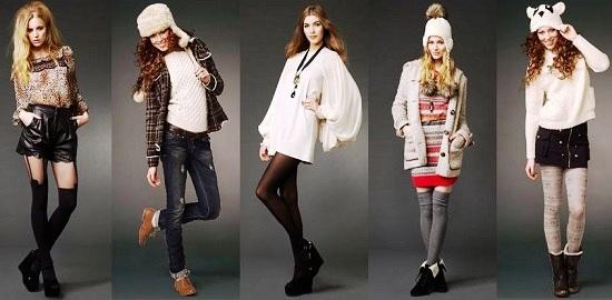 Новая коллекция магазина одежды