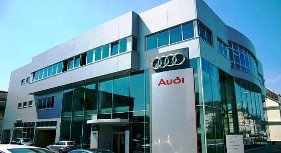 Автосалон Audi