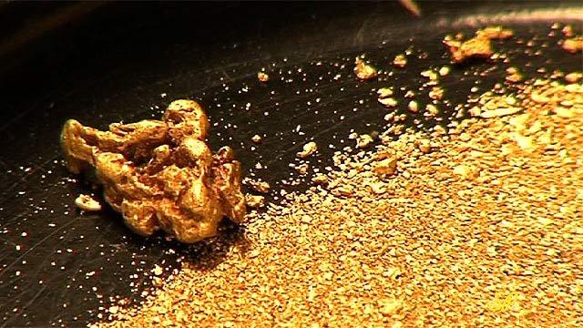 золотодобыча, золотая лихорадка