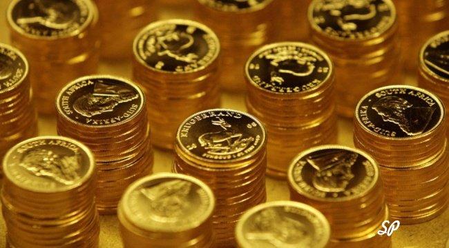 Золотые монеты
