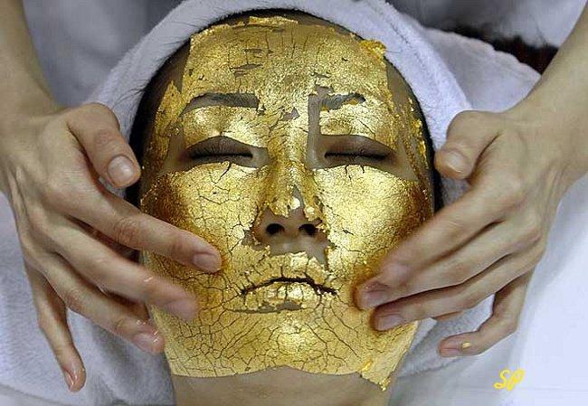золотая маска, золото, золото в косметологии, золото в медицине