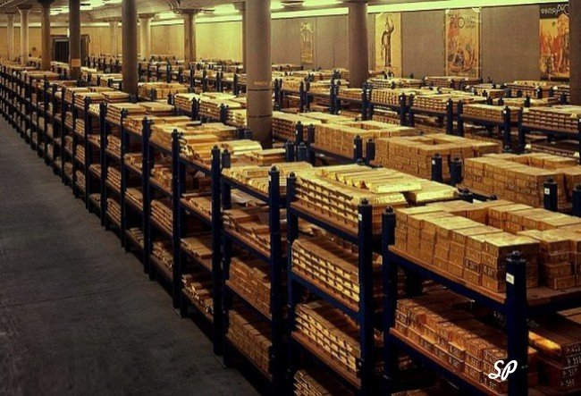 хранилище золота банковское хранилище