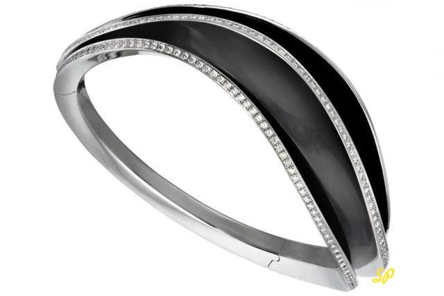 черное золото, белое золото, ювелирные украшения, кольцо, бриллианты