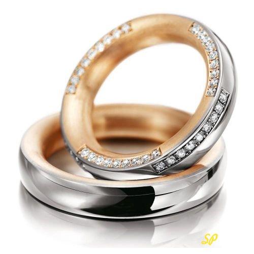 кольца из красного золота