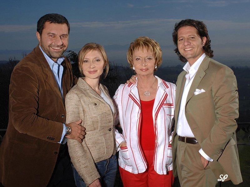 фото представителей фамилии Damiani-Габриела, Гвидо,Джорджио, Сильвия Дамиани,