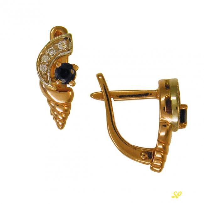 брошки из ценного золота