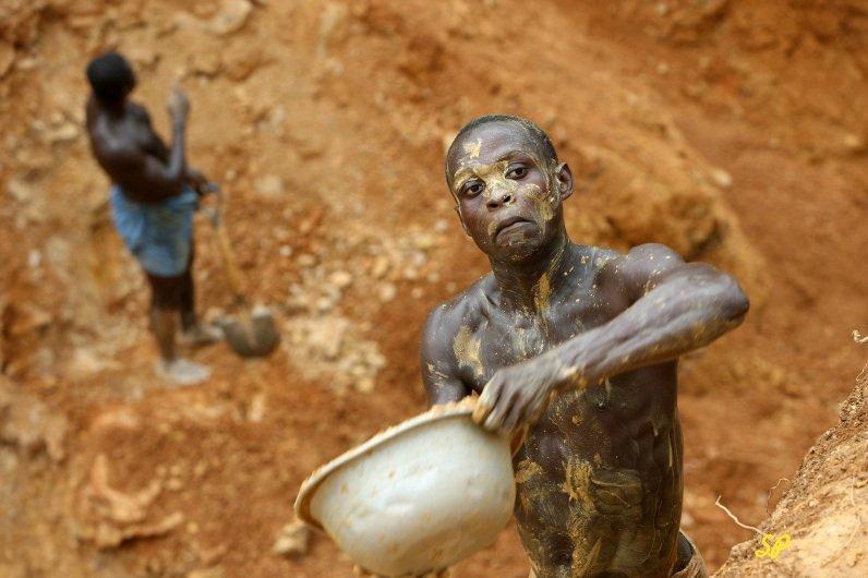 добыча золота в Гане