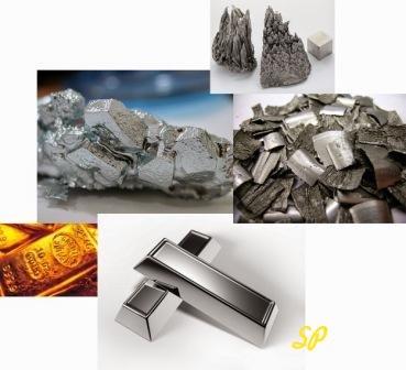 Изображения различных драгоценных металлов