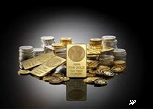 Слитки и монеты разных драгметаллов