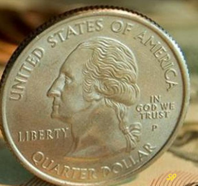 Серебряная монета США