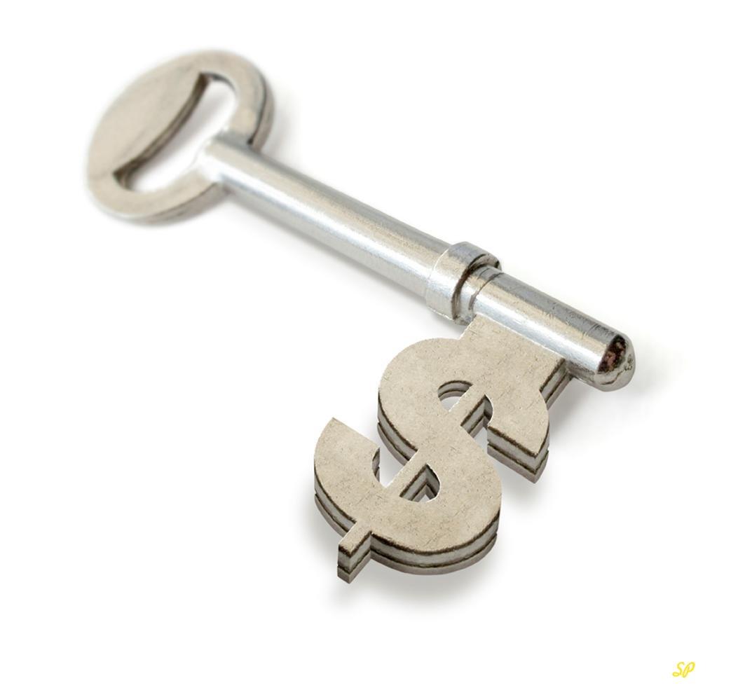 металлический ключ