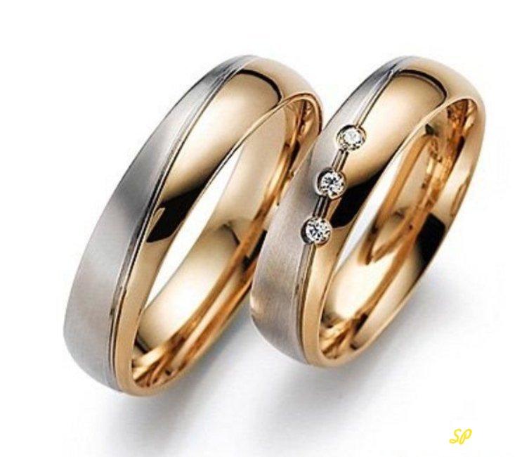 Пара золотых колец