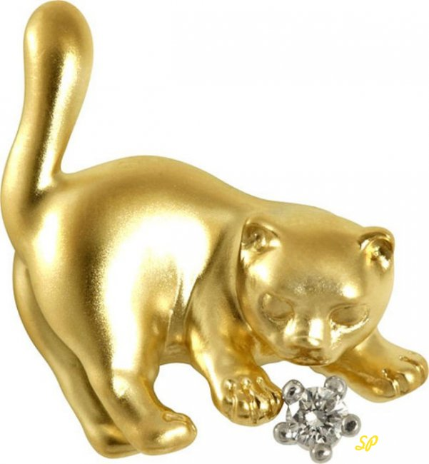 Золотая фигурка
