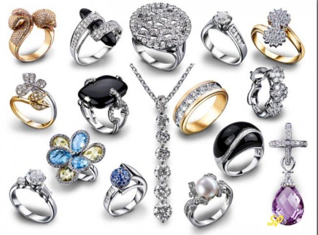 Разнообразные изделия из серебра