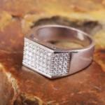 Кольцо с фианитами , цена - 1 548 гривен