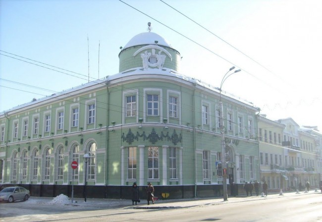 Здание Нацбанка Республики Беларусь