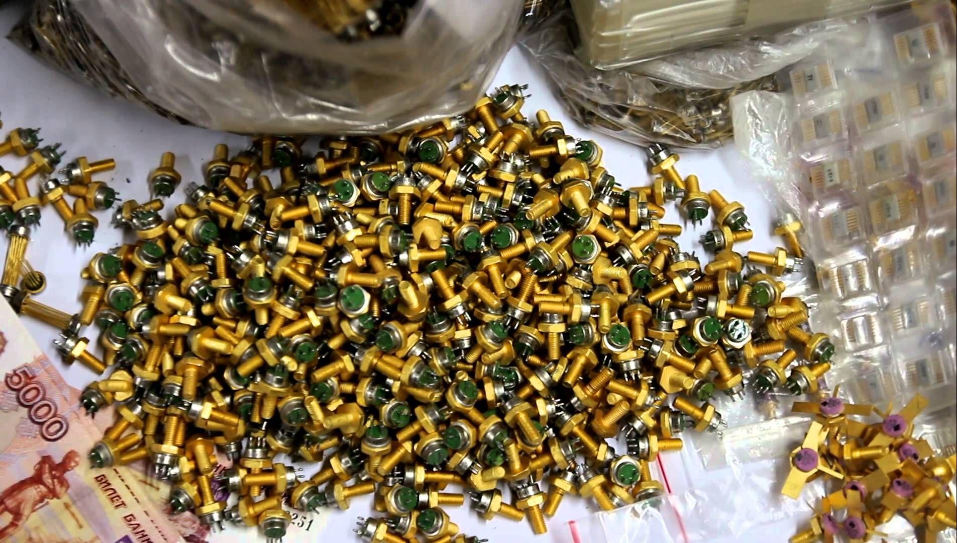 конденсатор фото в которых находится золото так давно