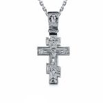 Мужской православный крест из платины, цена 37 345 руб
